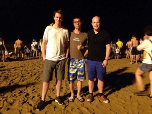 Stian, Fei Peng and myself